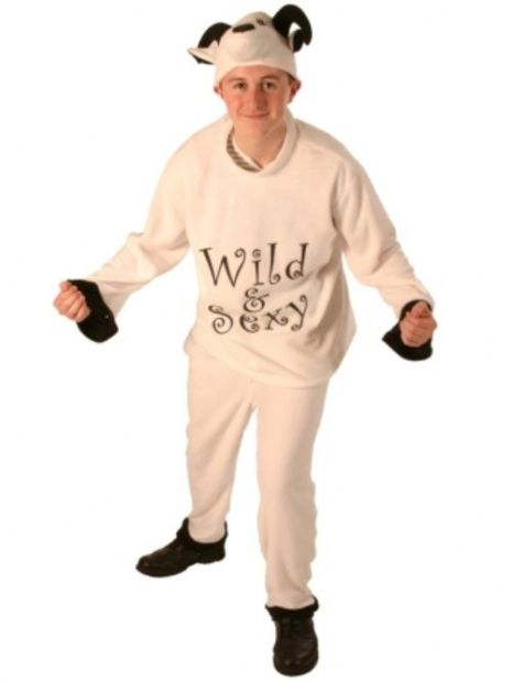 Animal Sheep 3 Piece Adult Costume Nature Zoo Wildlife Book Week